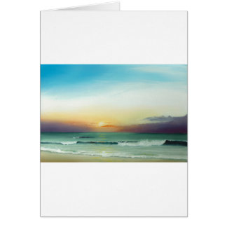 Outer Banks Sunrise Card