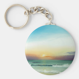 Outer Banks Sunrise Key Chains
