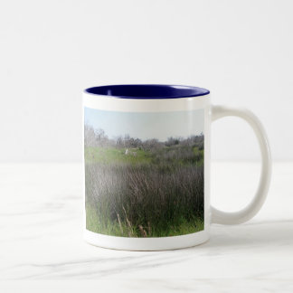Outer Banks Tidal Salt Marsh Coordinating Items Two-Tone Coffee Mug