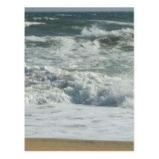 Outer Banks Wave Crash Postcard