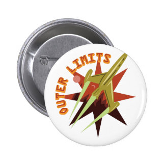 Outer Limits Rocket 2 Inch Round Button