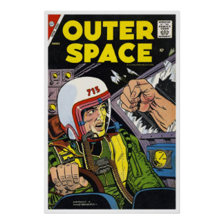 Outer Space #18 (1958) Poster