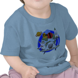 Outer Space 1st Birthday  T-shirts and Gifts