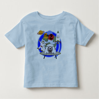 Outer Space 2nd Birthday T-shirts and Gifts
