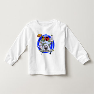 Outer Space 7th Birthday Tshirts and Gifts