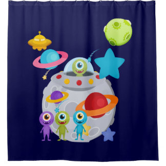 Outer Space Aliens UFOs Planets