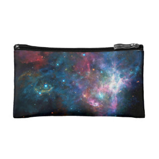 Outer Space Galaxy Nebula Makeup Bag