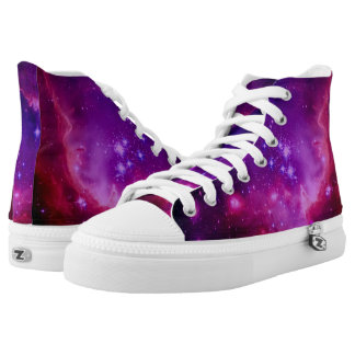 Outer Space Galaxy | Nebula Purple Tinted Cool