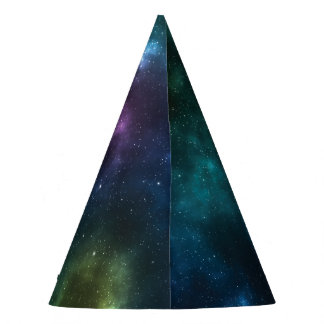 Outer Space Galaxy Party Hat