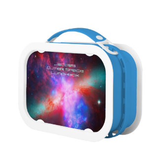 Outer space image: Cigar Galaxy, Messier 8 Lunch Box