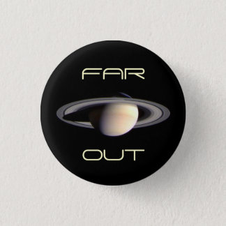 Outer Space is Heavenly 1 Inch Round Button