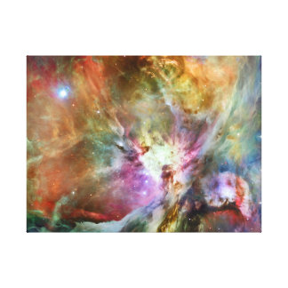 Outer Space Orion Nebula Stretched Canvas Prints