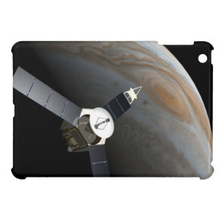 Outer space planet and probe iPad mini case