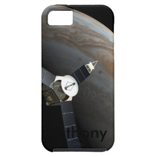 Outer space planet and probe iPhone 5 cover