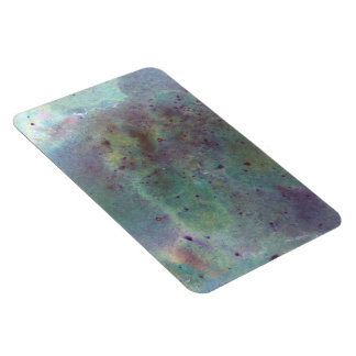 Outer Space. Rectangular Photo Magnet