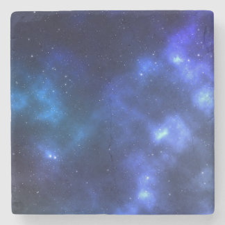 Outer Space Stars Galaxy Stone Coaster