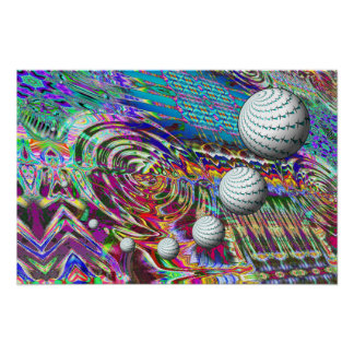 Outer Space Whoosh Whoosh Music poster