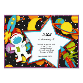 Outerspace Card