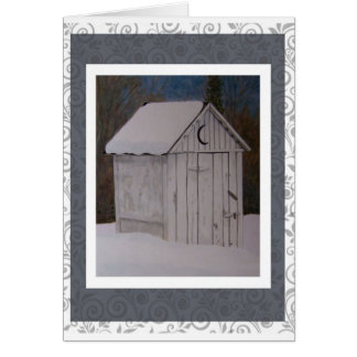 Outhouse Card