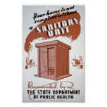Outhouse WPA Poster