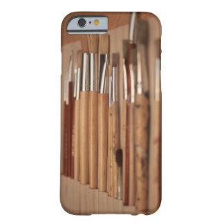 Outils d'artistes - cas de l'iPhone 6 de pinceaux Coque Barely There iPhone 6