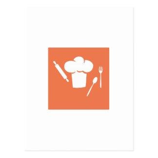 Outils de boulangers cartes postales