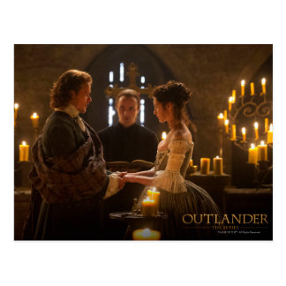 Outlander | Jamie & Claire's Wedding Postcard