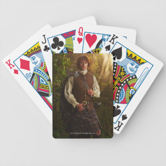Outlander | Jamie Fraser - In Woods Bicycle Playing Cards