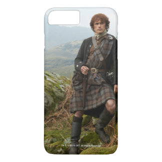 Outlander | Jamie Fraser - Leaning On Rock iPhone 8 Plus/7 Plus Case