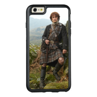 Outlander   Jamie Fraser - Leaning On Rock OtterBox iPhone 6/6s Plus Case