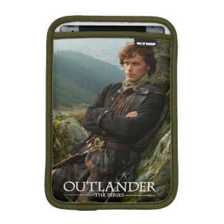Outlander | Reclining Jamie Fraser Photograph iPad Mini Sleeve