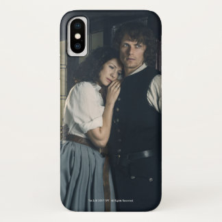 Outlander Season 3 | Jamie and Claire Affection iPhone X Case