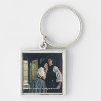 Outlander Season 3 | Jamie and Claire Affection Keychain