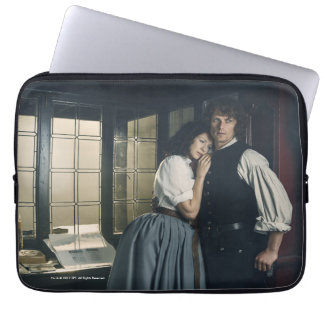 Outlander Season 3   Jamie and Claire Affection Laptop Sleeve