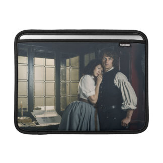 Outlander Season 3   Jamie and Claire Affection Sleeve For MacBook Air