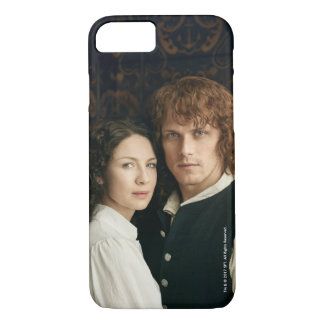 Outlander Season 3 | Jamie and Claire Photograph iPhone 8/7 Case