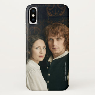 Outlander Season 3 | Jamie and Claire Photograph iPhone X Case
