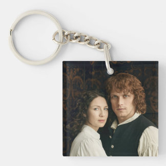 Outlander Season 3 | Jamie and Claire Photograph Keychain