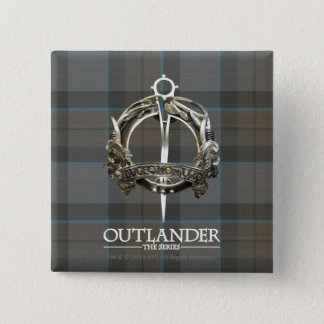 Outlander | The MacKenzie Clan Brooch 2 Inch Square Button