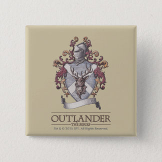 Outlander | The MacKenzie Crest 2 Inch Square Button