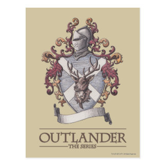 Outlander | The MacKenzie Crest Postcard