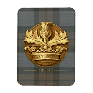 Outlander | The Thistle Of Scotland Emblem Magnet