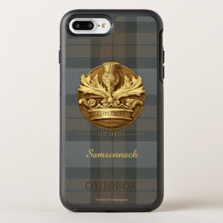 Outlander | The Thistle Of Scotland Emblem OtterBox Symmetry iPhone 7 Plus Case