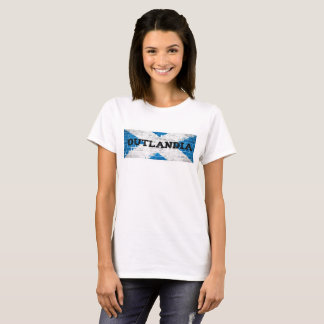 Outlandia Scottish Flag T-Shirt