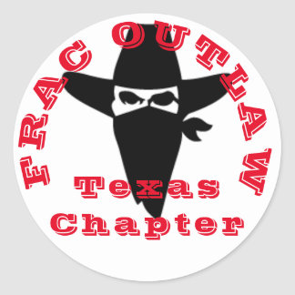 Outlaw chapter round sticker
