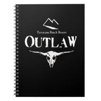 Outlaw Notes Spiral Note Books