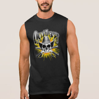 Outlaw Western Skull Sleeveless Shirt
