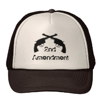 OutlawGunSilhouette, 2nd Amendment Trucker Hat