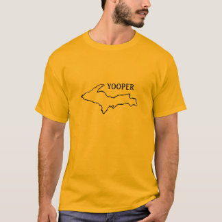 outline_of_Mi_, YOOPER T-Shirt