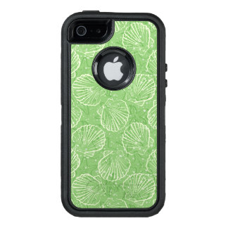 Outline seashells OtterBox defender iPhone case